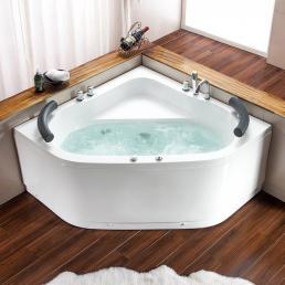 Corner bath tubs