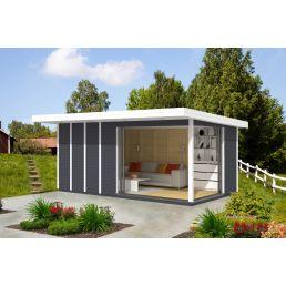 Lükandustega aiamaja Airi 13 (pindala 13,2 m2)