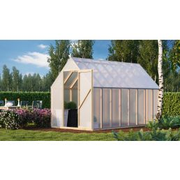 Wooden greenhouse big Homer