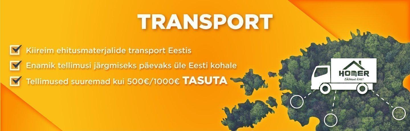 Kiireim ehitusmaterjalide transport