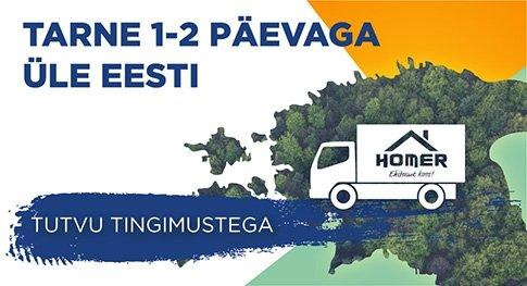 Kiireim tarne Eestis